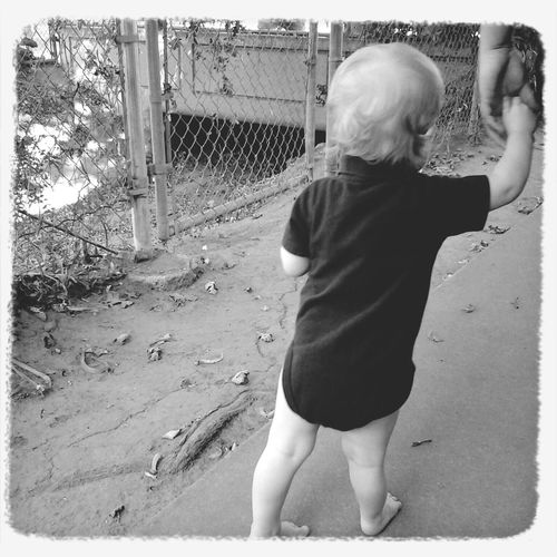 Learning to walk Love My Son