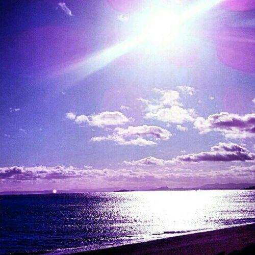 'Firth of Forth' Ravenscraig Kirkcaldy Fife  Scotland Seascape Seaview Cloudporn skysnappers skyporn Sunrays Sunlight LensFlare Igers Tagstagram instahub instagrampolis instamob Primeshots