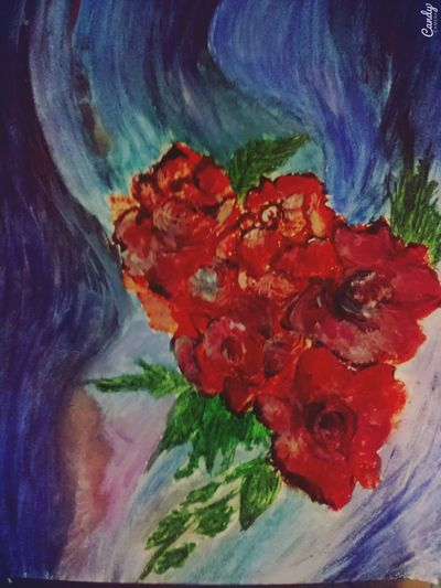 Picture Roses My Painting ArtWork Background Colorful Emotional Relaxing Enjoying Life All I Need