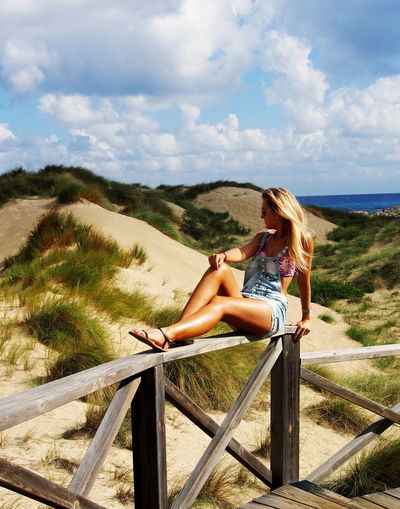 Alone Time Beautiful Girl Beautiful Place Beautiful Woman Beauty In Nature Blonde Girl Blondhair Blondie Cala Mesquida Czechgirl Dream Dreaming Hidden Places Lonely Majorca Mallorca Model Model Pose Nature Newbeginning Newlife Sitting Alone Summer Thinking About Life Thinking Of You