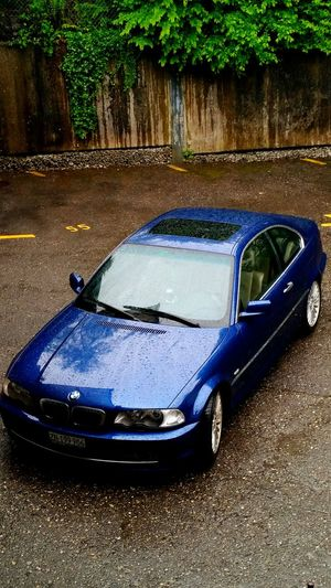 Bmw 330ci E46 Rain Blue Car Coupè