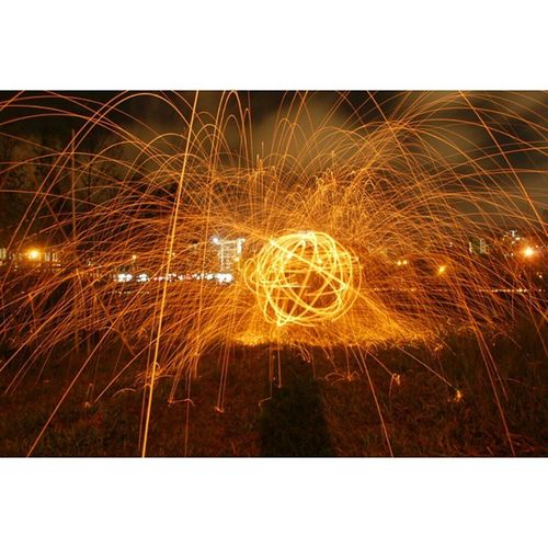 First attempt at steel wool. Usandtripod Ekya Smlmpunyacerita Shootsampaipagi Dengankakigerek Steelwool Steelwoolsg Madaboutsingapore Madaboutsingapore2015 Singapurastreets Nightphotography Love_singapore Firstspin Light_shots 3layersphotography