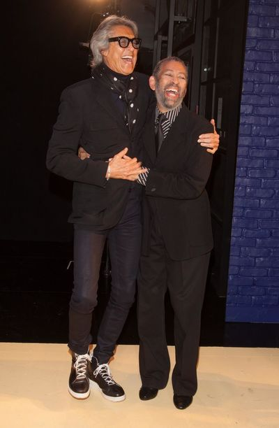 Confidence  Entertainers Friendship Front View Laughing Real People Stagephotography Standing Theater Tommy Tune And Maurice Hines Well-dressed Broadway Broadwaymusical Icon