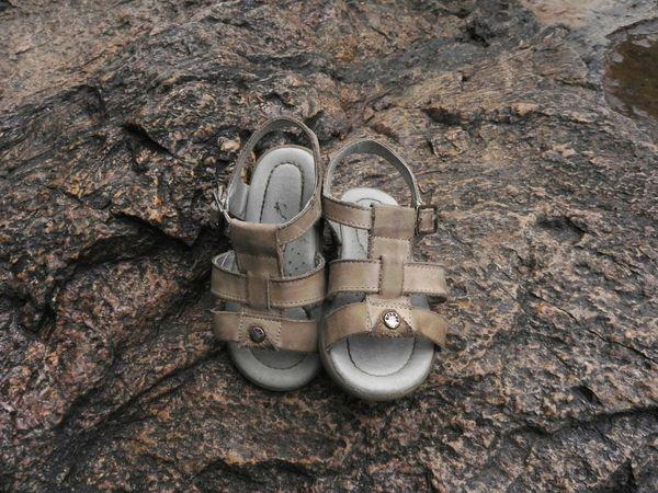 Kids Sandals Kids Shoes Nature Nature Photography Rock Sandals Sandals Over A Rock Shoes