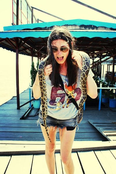 I don't like snakes.... That's Me