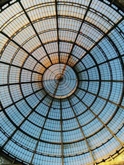 Nexus5photography Nexus5 Galleria Galleria Vittorio Emanuele Cupola Vetro Vetrata Cerchi Cerch Concentrici Cerchiconcentrici