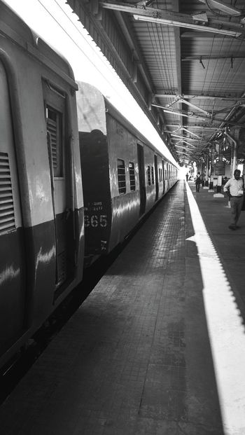 Streetphotography Chennai I Love My City Incredible India Train Railway Local Transportation Mobilephotography Sold On Getty Images Urban Geometry The Street Photographer - 2016 EyeEm Awards My Commute Feel The Journey Fine Art Photography On The Way Welcome To Black Long Goodbye