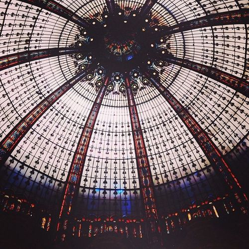 When everyone was busy shopping I was looking up and sipping coffee at different malls. Amazing how every mall the same but different. Paris
