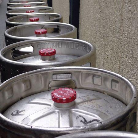 Beer Kegs Kegs Carlton Pub Melbourne