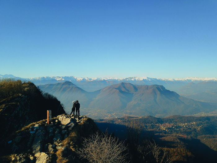 love no matter where!! Italy EyeEm Selects Djimavicpro Drone  Dronephotography Couple - Relationship An Eye For Travel Mountain Mountain Range Sky Scenics Outdoors Nature Landscape Beauty In Nature Clear Sky Shades Of Winter