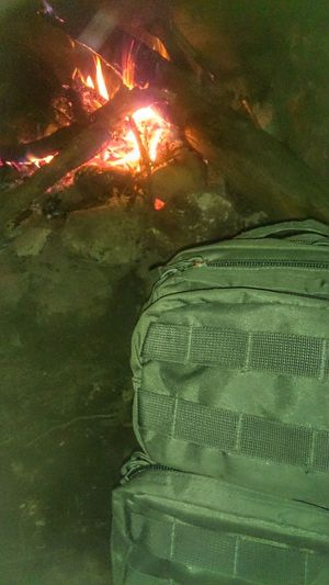 Bushcraft Survivalist Fire Fire And Flames