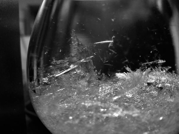 Stormglass Barometer Barometro Cristalli Crystals Meteo Macro Black And White Bnw Black & White Biancoenero Bw Macro_collection Macro Photography Blackandwhite Photography