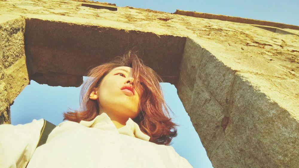 EyeEm Selects Young Women Beautiful Woman Women Sunlight Sky