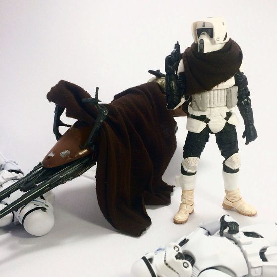 """""""The Scout trooper Story 2"""" Starwarstoys Starwarsfigures Starwarstoypix Starwars Starwarstheblackseries Starwarsblackseries Starwarsblackseries6inch"""