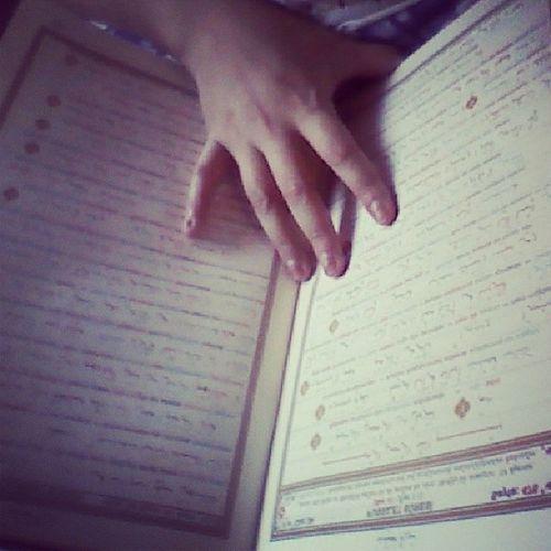 ThankGodIsAlreadyOnMyHands Quran