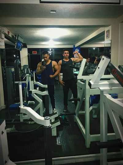instagram:galvez260 Eatclean Healthy Healthy Eating #bodybuilding Aesthetics Arms Body & Fitness Biceps Rear View Workout Teamwork Adults Only Sports Team Muscular Build Sports Clothing Only Men Sport People Indoors  Activity Exercising Day Men Adult Healthy Lifestyle Technology Young Adult Gym