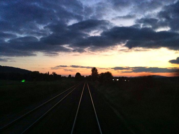Sunset Wolkenfabrik Public Transportation Relaxing
