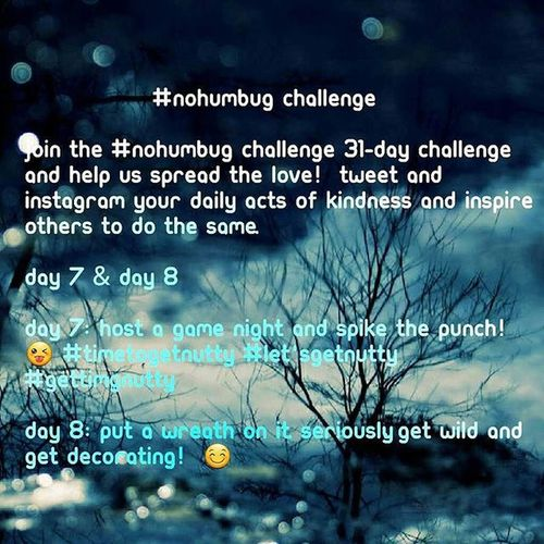 31 Day NoHumbug Challenge Day 4. Countdown Until CHRISTMAS!!!: 21 DAYS 🎆🎅🎄🎁🎉🎊🎈❄⛄