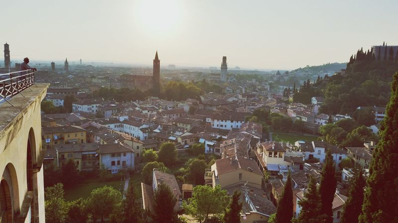 Verona Italy My Town My Country In A Photo Italy🇮🇹 Italy❤️ Panoramas EyeEm Best Shots Eyepanorama Architecture Sky Sunset Cityscape Travel Destinations Urban Skyline Landscape Day