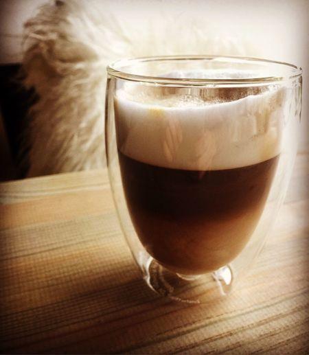 En søndagskop☕️ Latte Macchiato Søndagskaffe Lækkerier Godkaffe Loveit Livsnyder Philips Saeco Fordi Jeg Kan
