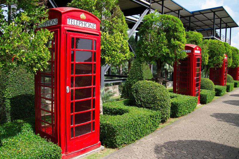 Red Telephone Box Telaphone Booth
