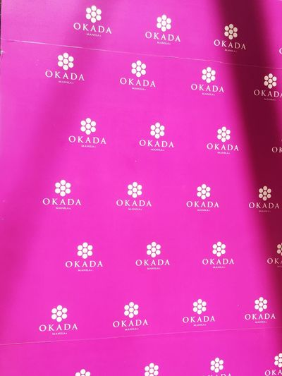 Okada Pink Color No People Backgrounds Pattern Snow Purple Winter Colored Background