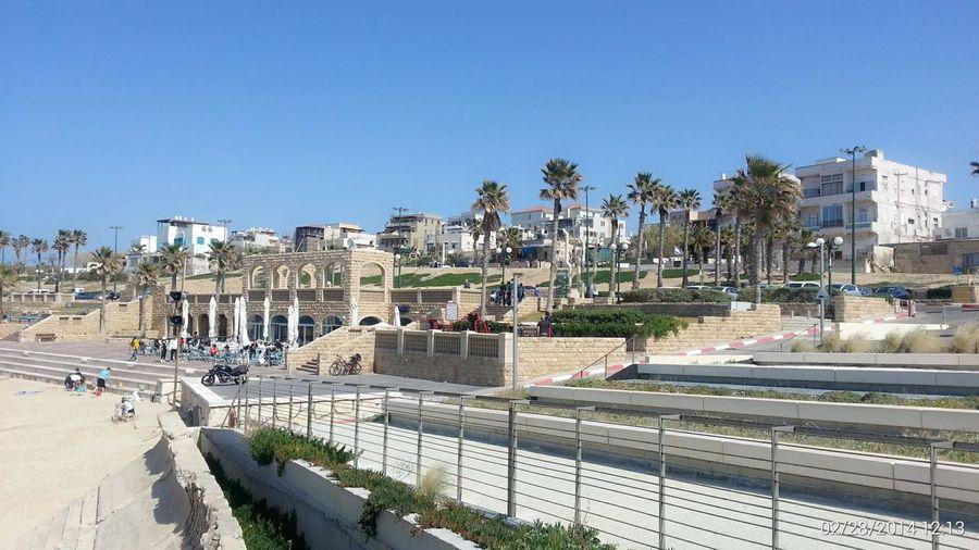 At Jabalia Beach Jaffa by the Mediterranean Sea while Walking Around on a beautiful day