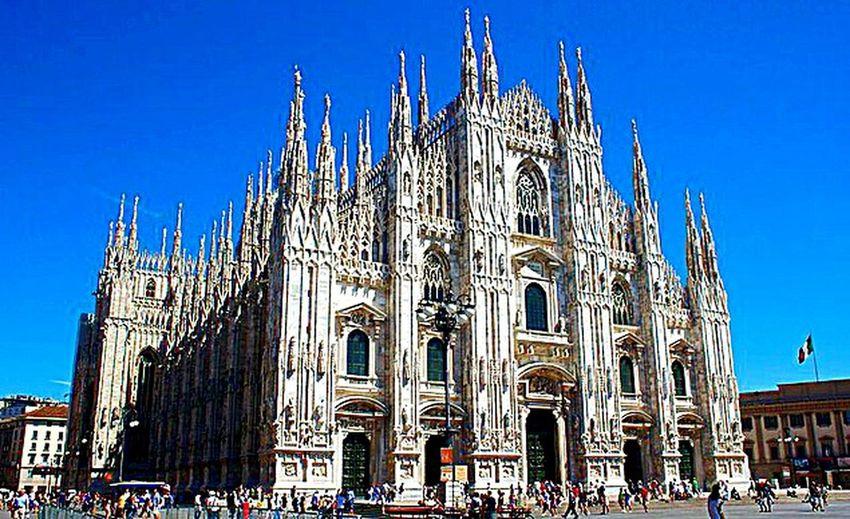 Hello World ✌ Eyeem Best Shots - Church Kathedral Duomo Milano Travel Photography Taking PhotosOld Church