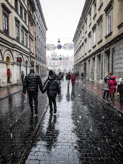 Snow Krakow