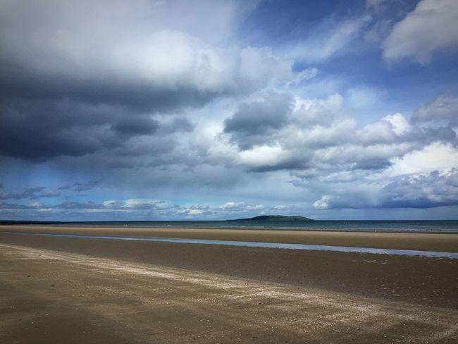 Portmarnock Dublin, Ireland Beach Clouds And Sky Landscape_Collection Landscape Sea Herecomestherainagain