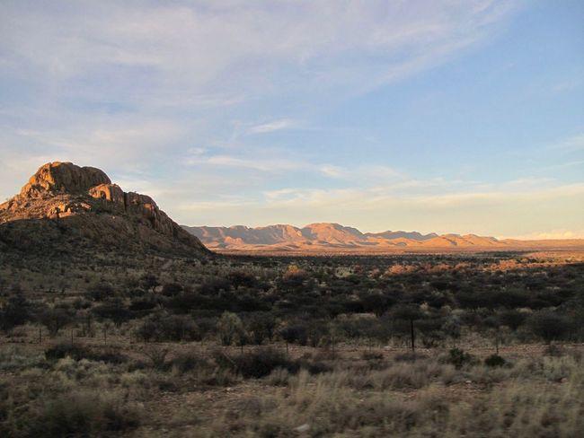 Mountains In Namibia Namibia Desert Far Far Away Sundowner