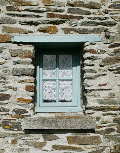 Built Structure Window Building Exterior Architecture Outdoors No People Day Brittany ❤ Sun Stone Cottage