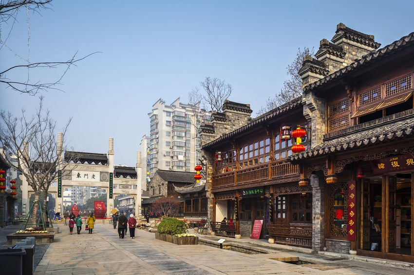 Hidden Gems-Nanjing Ming and Qing architecture China Hidden Gems  History Ming And Qing Architecture Nanjing Old Men Dong Tourist Attractions Architecture Built Structure City City Life Day Leisure Activities Lifestyles Outdoors Sky Tourist Destination