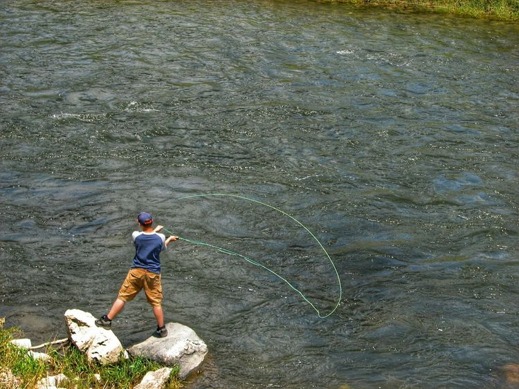 Fishing Fisherman Fly Fishing River Stream Colorful Colorado Trout Fishing Getting Inspired Check This Out Canonphotography Arkansas River