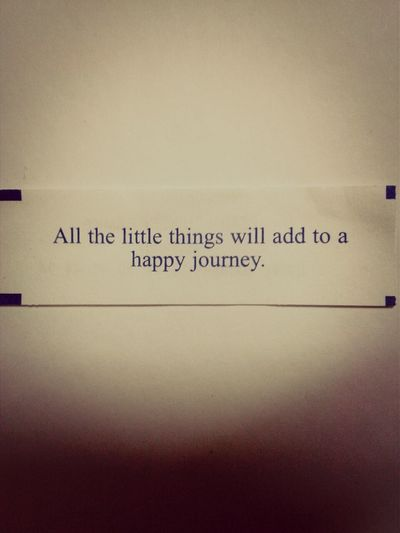 Fortune Cookie (: Don't Care About What People Say. As Long As You're Right, Still Do And Think Positively! po#2014