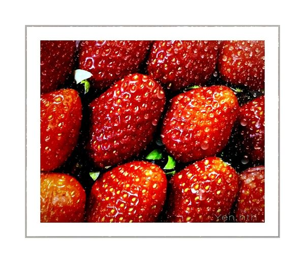 Nature Nature_pic Garden Strawberries Food Red Healthy Eating Food And Drink Freshness No People Indoors