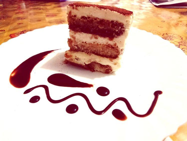 Tiramisu Italian Dessert Plate Dessert Table Drink Cake Close-up Sweet Food Food And Drink