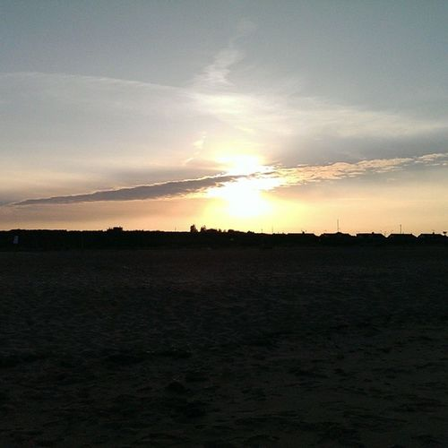 Sunset Caister Caisteronsea this isn't very good as it's a mobile phone camera haven't put any filters using this app.