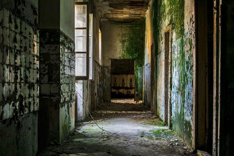 View of old corridor
