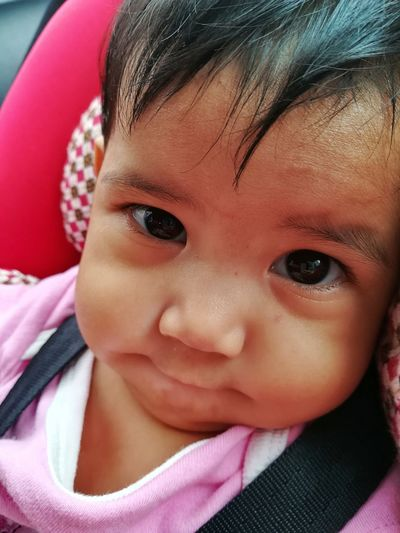 Portrait Child Childhood Looking At Camera Headshot Girls Human Face Cute Close-up Babyhood Eye Color 0-11 Months Baby Carriage Babies Only Baby Newborn Eyeball Baby Clothing Eyelid One Baby Girl Only Iris - Eye The Portraitist - 2019 EyeEm Awards