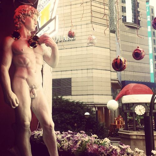 Nothing says MerryChristmas like a little Willy Thelittletomato Causewaybay  TimesSquare HongKong Naked