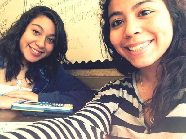Today in 5th period with this cutie