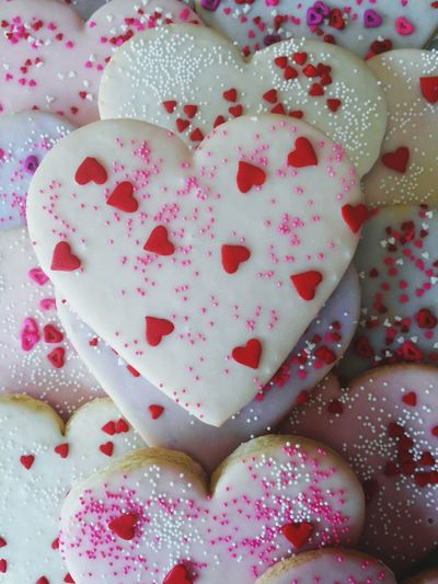 Bakery Love Valentine's Day  Cookies Hearts