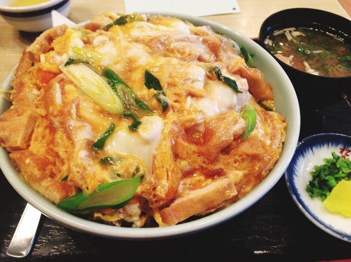 衣笠丼〜大盛〜 気の迷い Lunch Food