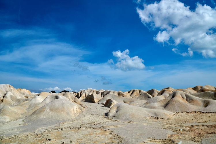 Bintan island sand desert