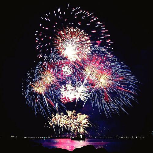 """Bouquet of lights"" Firework Display Firework - Man Made Object Long Exposure Firework Sparkler Sparks Celebration Pyromusical2017 SmMallofAsia SM Internationalpyromusicalcompetition"
