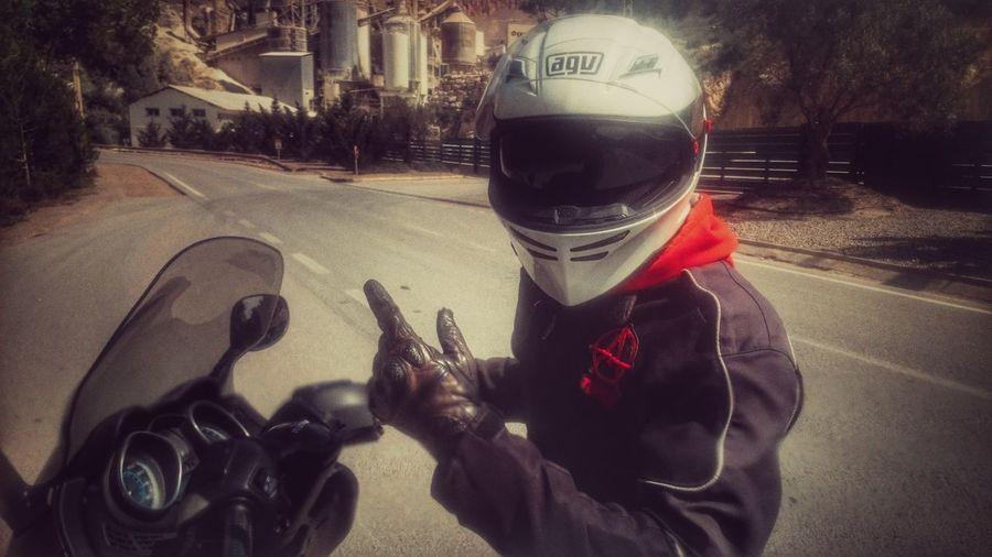 Día de Moto , Ruta de 210!