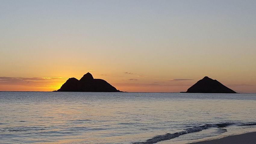 Lanikai Beach Sunrise Clear Sunny Day Peaceful View Loving Life