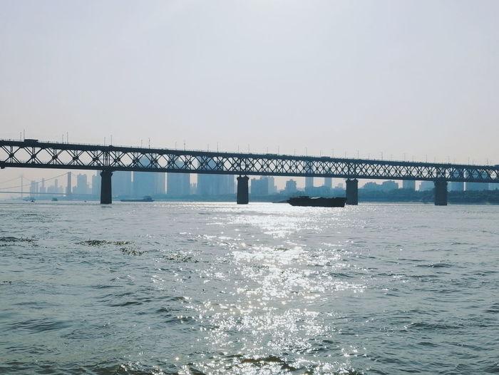武汉 关于光的故事 光 长江 Water 武汉长江大桥 First Eyeem Photo