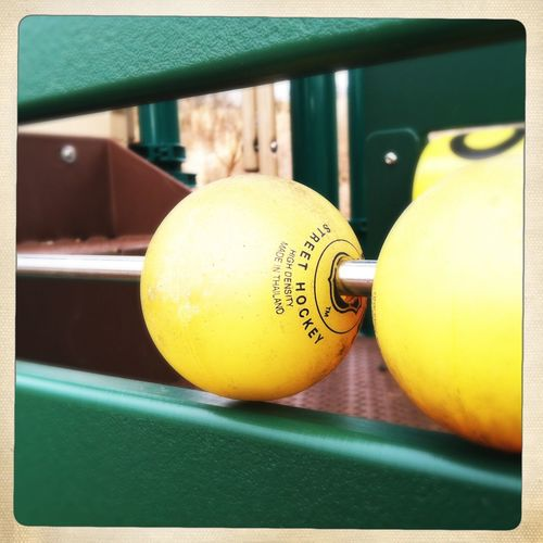 Close-up Focus On Foreground No People Playground Vibrant Color Yellow